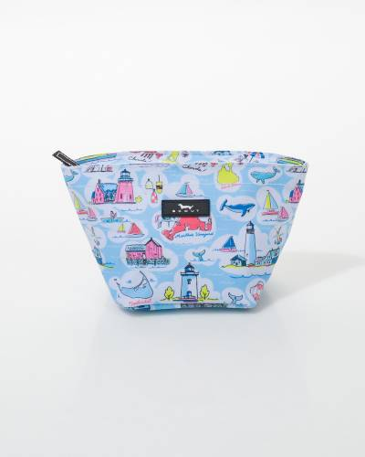 Crown Jewels Cosmetic Bag in New England