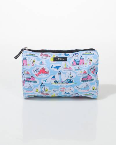 Packin' Heat Cosmetic Bag in New England