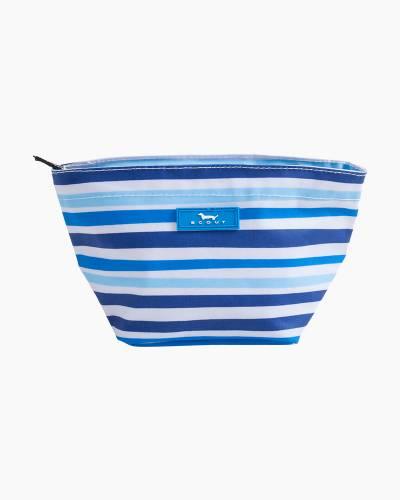 Crown Jewels Cosmetic Bag in True Blue