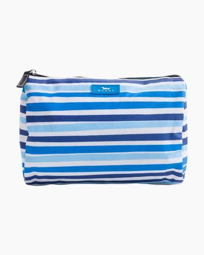 Packin' Heat Cosmetic Bag in True Blue