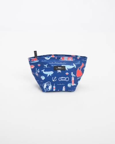 Exclusive Crown Jewels Cosmetic Bag in NE Nautical