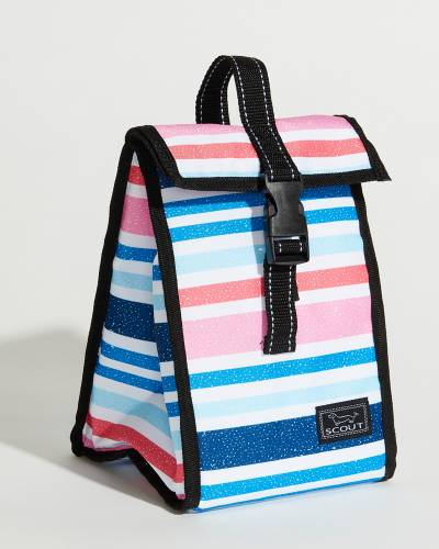 Exclusive Doggie Bag in Watermelon and Blue Chalk