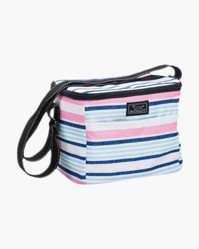 Ferris Cooler Lunch Bag in Pink and Blue Lines
