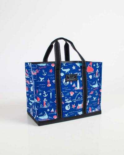 Exclusive Original Deano Tote in NE Nautical