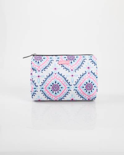 Exclusive Packin' Heat Cosmetic Bag in Medallion Lace