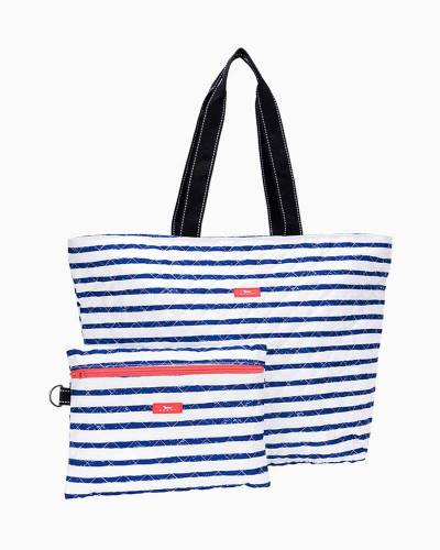 Plus 1 Foldable Tote and Pouch Duo in Ship Shape