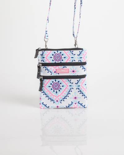 Exclusive Sally Go Lightly Crossbody Bag in Medallion Lace