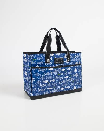 Exclusive BJ Bag in One Fish Blue Fish