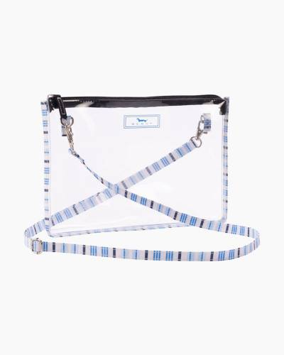 Clear Abby Crossbody in Out of the Blue
