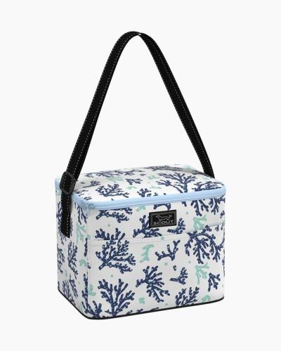 Ferris Cooler Lunch Bag in Coral Lagerfeld