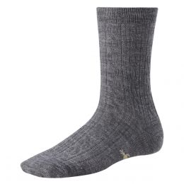 SmartWool Grey Cable Socks