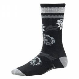 SmartWool Women's Black Bitty Blossom Socks