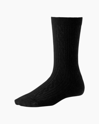 Women's Black Cable II Socks