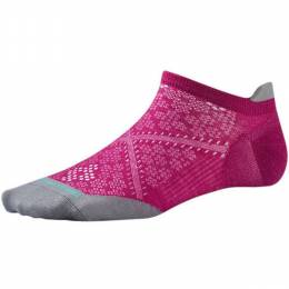 SmartWool Women's PhD Run Ultra Light Micro Socks in Berry