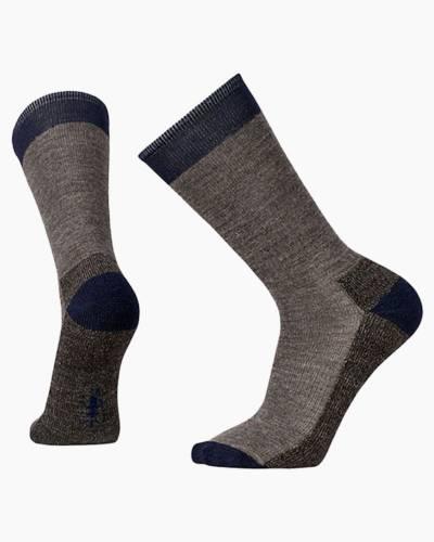Men's Hiker Street Socks in Taupe Heather (Medium)
