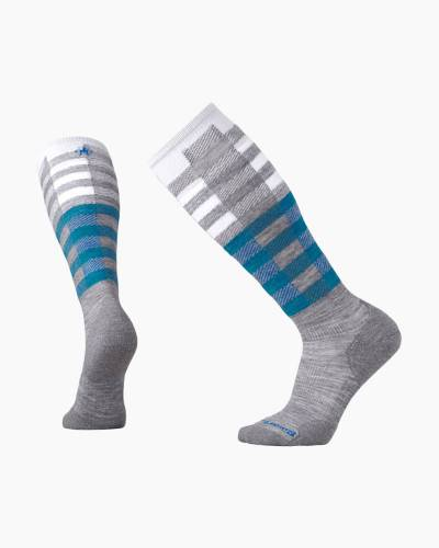 PhD Slopestyle Light Ifrane Socks in Light Grey (Medium)