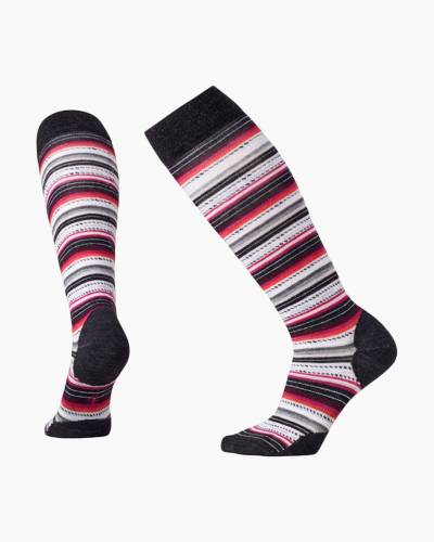Women's Margarita Knee High Socks in Charcoal Heather (Large)