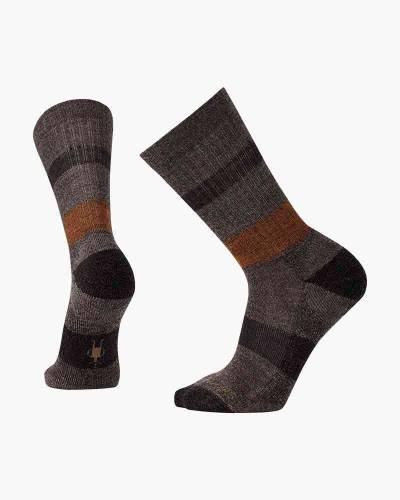 Men's Barnsley Crew Socks in Chestnut Heather