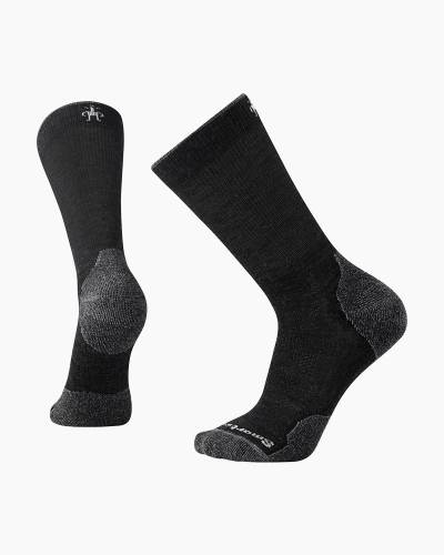 Men's PhD Outdoor Light Crew Socks in Charcoal (Large)