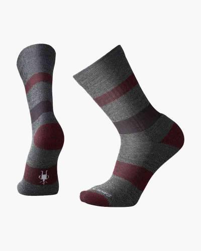 Men's Barnsley Crew Socks in Grey Heather