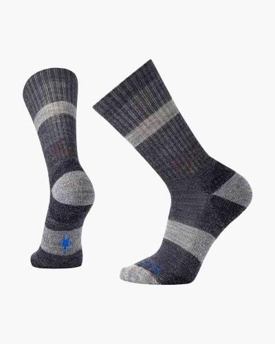 Men's Barnsley Crew Socks in Navy Heather