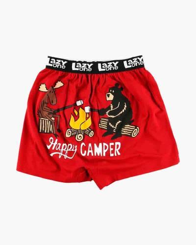 Happy Camper Men's Boxers