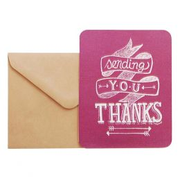 Orange Circle Studio Sending You Thanks Thank You Notes