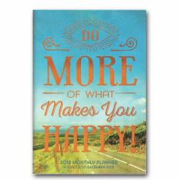 Orange Circle Studio What Makes You Happy 2018 Monthly Pocket Planner