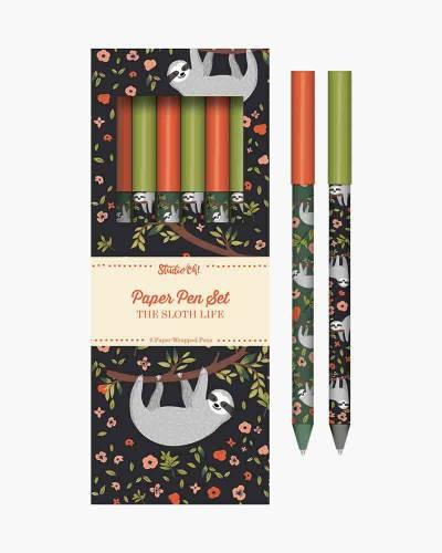 The Sloth Life Paper Pen Set