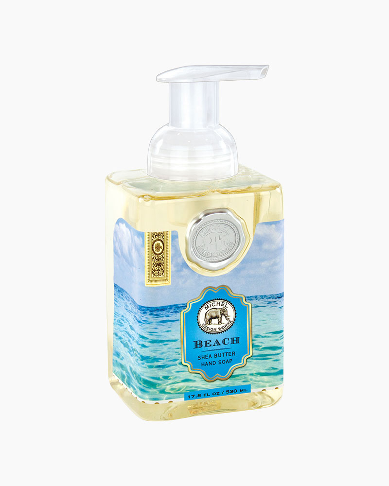 Michel Design Works Beach Foaming Hand Soap The Paper Store