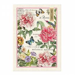 Michel Design Works Peony Kitchen Towel