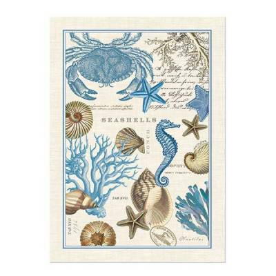 Wonderful Michel Design Works Seashore Kitchen Towel