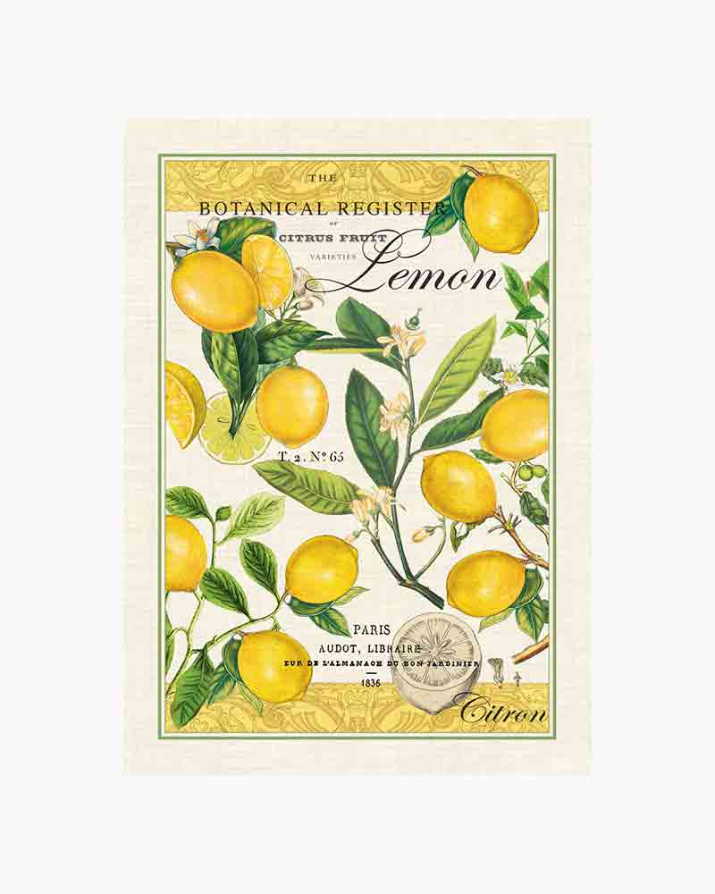 Lemon Basil Kitchen Towel