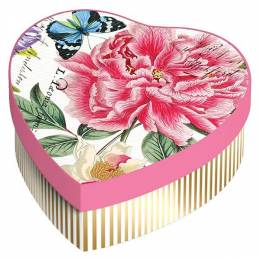 Michel Design Works Peony Hearts and Flowers Soap Gift Set
