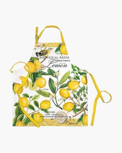 Lemon Basil Cooking Apron