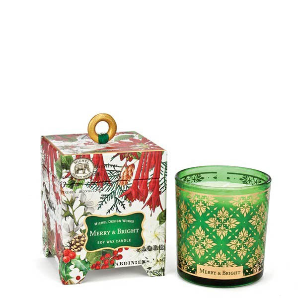 Michel Design Works Merry and Bright Soy Wax Candle