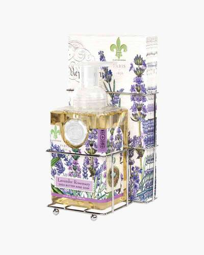 Lavender Rosemary Foaming Hand Soap and Napkin Set