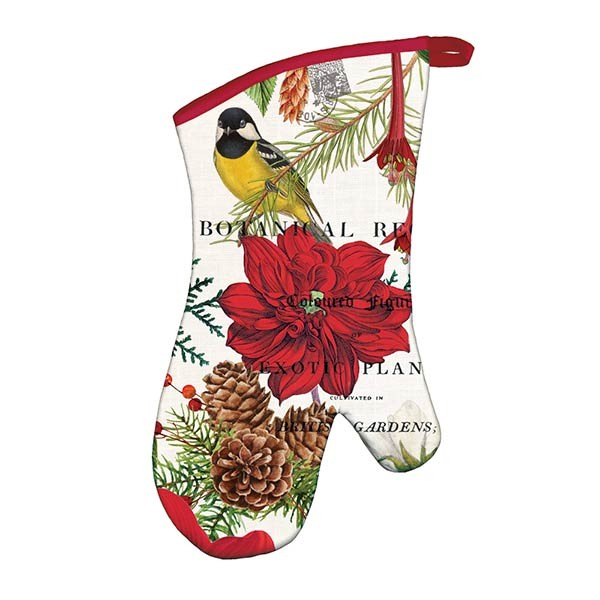 Michel Design Works Merry and Bright Oven Mitt
