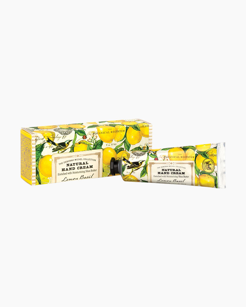 Michel Design Works Lemon Basil Natural Hand Cream