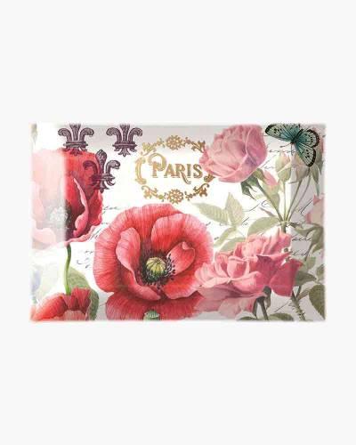 Toujours Paris Glass Soap Dish