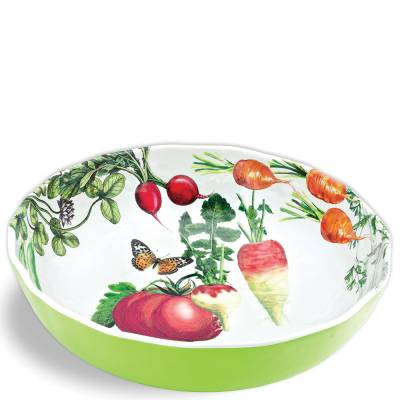 Vegetable Kingdom Melamine Bistro Bowl
