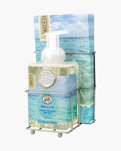 Beach Foaming Hand Soap and Napkin Set