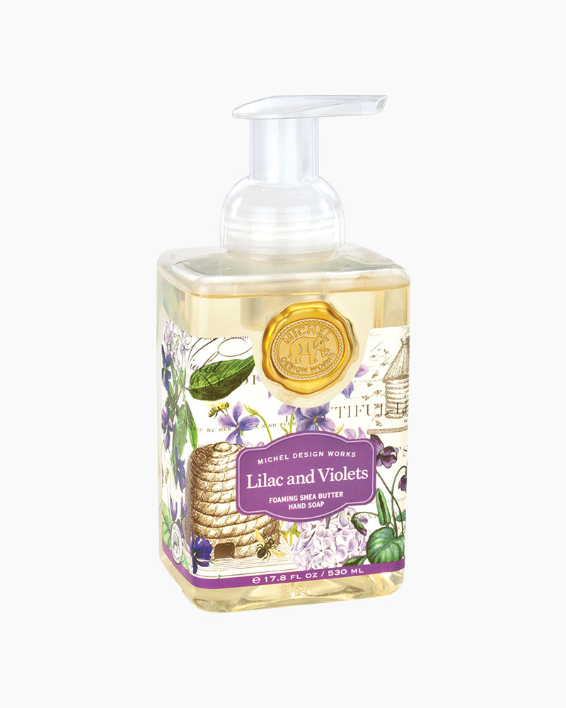 Michel Design Works Lilacs And Violets Foaming Hand Soap The Paper