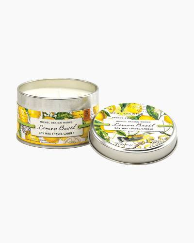 Lemon Basil Travel Candle Tin