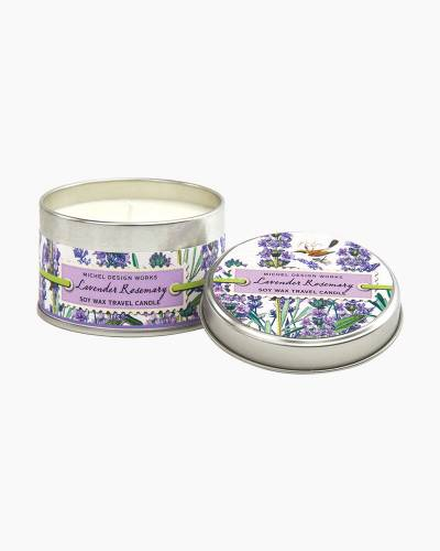 Lavender Rosemary Travel Candle Tin