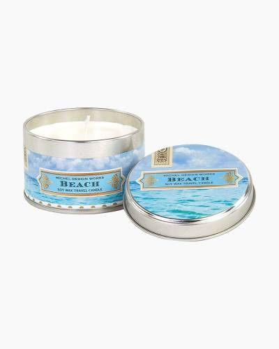 Beach Travel Candle Tin