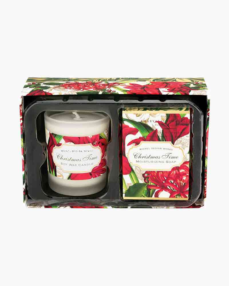 Michel Design Works Christmas Time Candle and Soap Gift Set | The ...