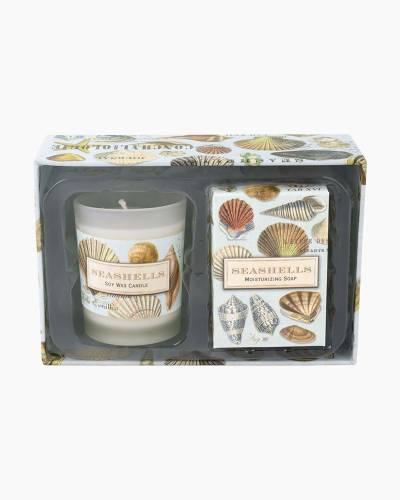 Seashells Candle and Soap Gift Set