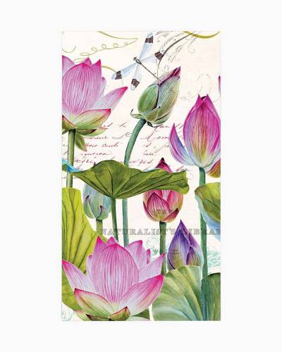 Water Lilies Hostess Napkins