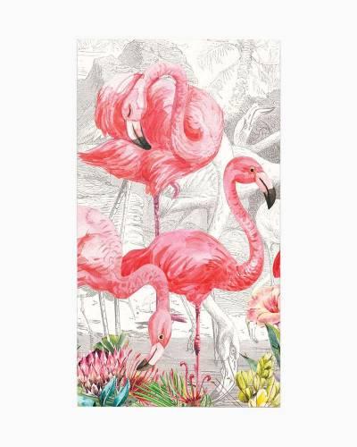Flamingo Hostess Napkins